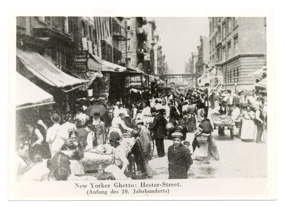 """""""New York Ghetto: Hester-Street"""""""
