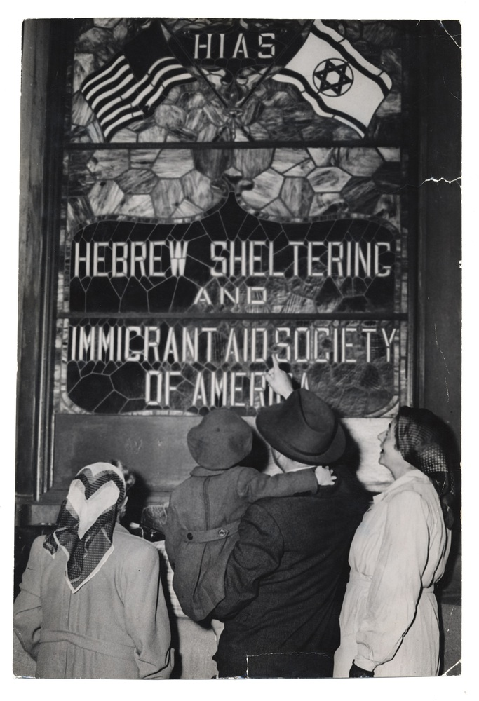 8 - Family outside the HIAS office in New York.jpg
