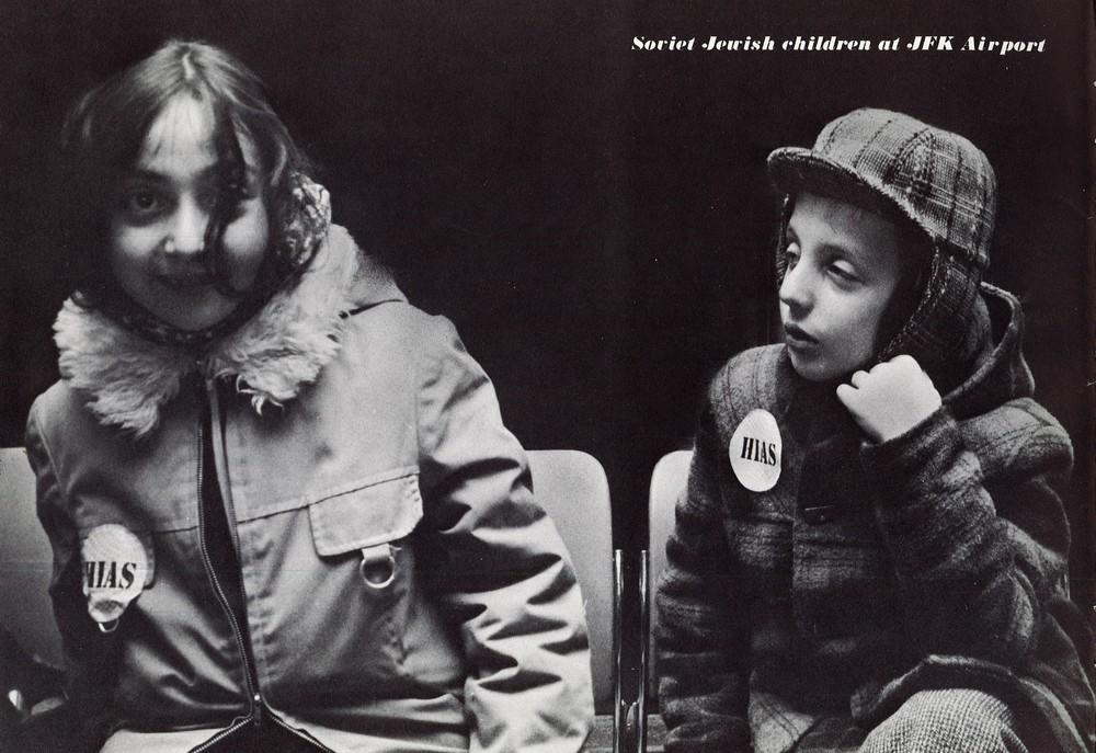 Soviet Jewish Children at JFK Airport