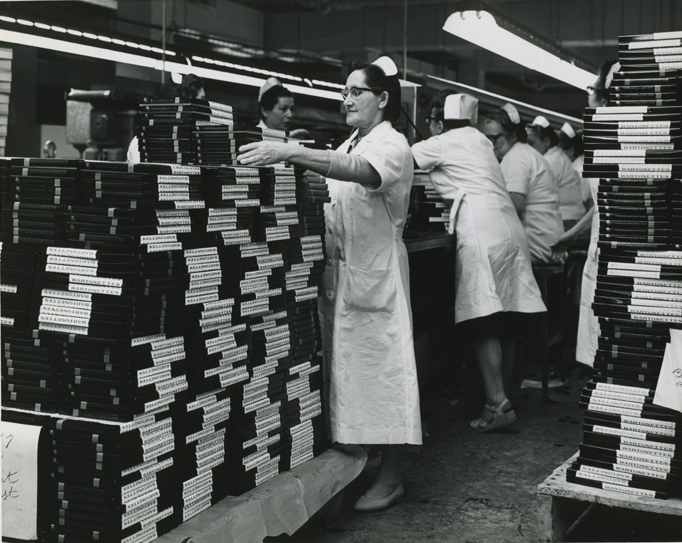 NAYNA - 5 - 1965 - Refugees employed at Bartons Candy Factory.jpg