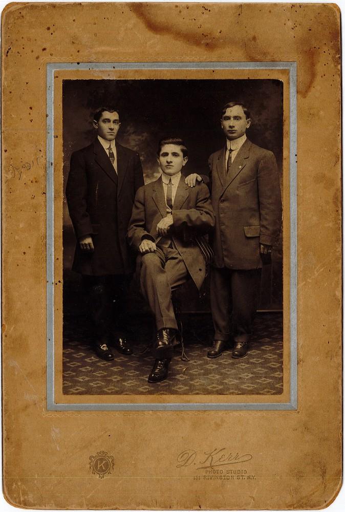 RG 120 - US353 - 1911 - three young jewish men.jpg