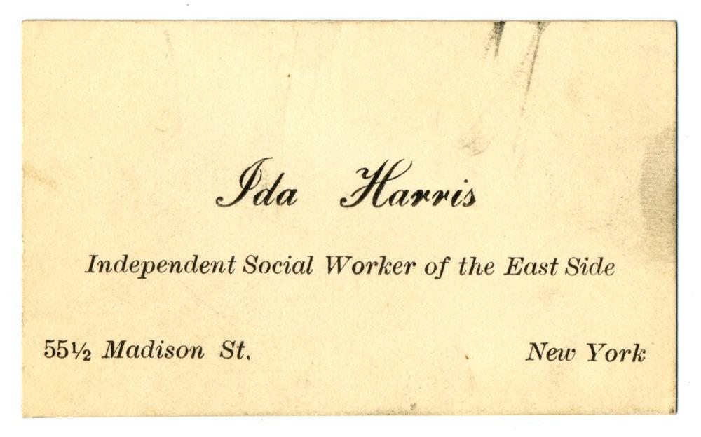 RG 117 - 16.2 - Ida Harris card front.jpg