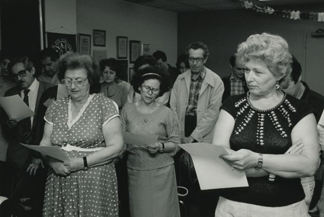 NYANA -19 -  Russian Refugees graduating from English class - 1971.jpg