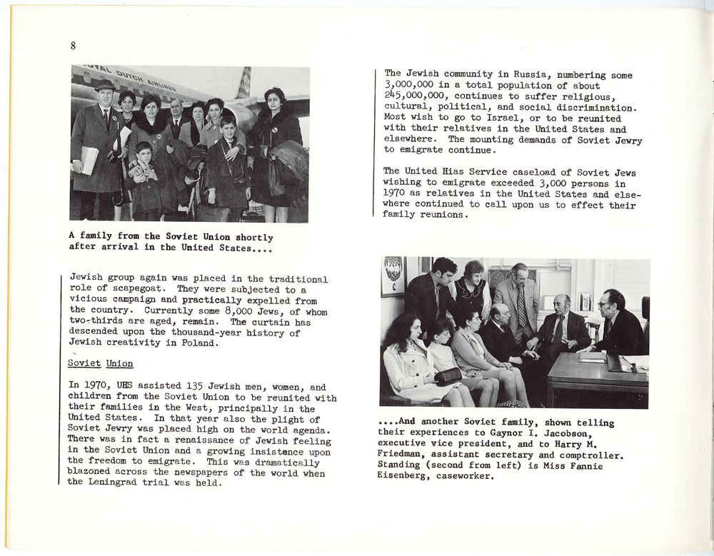 1970 HIAS Annual Report - Page describing Soviet Jew situation with images.jpg