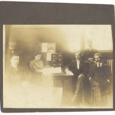 HIAS Ellis Island Staff