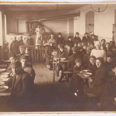 Emigrants Living at HIAS Headquarters Iin Warsaw