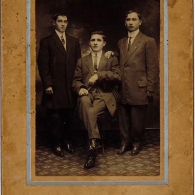 Portrait of Young Immigrant Men