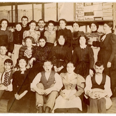 Workers of a Shirt and Blouse Factory