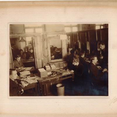HIAS Staff Assisting Jewish Emigrants in Warsaw